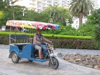 как в Китае без рикш?