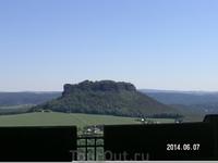 Вид с крепости. Столовые горы