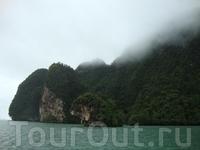 туман над островом