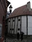 Самый старый фахверковый дом в Германии, 14 век.