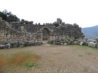 Античный город Ариканда.