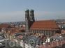 Вид с колокольни Св. Петра на Собор Богородицы.