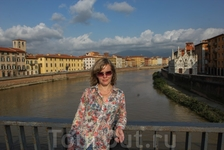 С этого города началось наше путешествие по Тоскане
