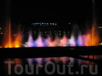 Шоу поющих фонтанов. Батуми