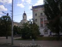 На одной из улиц города