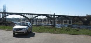 Главный старицкий мост через Волгу