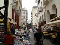 Город Салоники рынок1