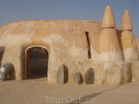 """Сахара. Декорации к фильму """"Звездные войны"""""""