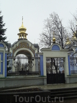 Одни из ворот Михайловского Златоверхого монастыря.