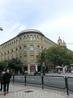 Это интересное здание оказалось колледжем El Colegio de Santo Tomás de Aquino de las Escuelas Pías de Zaragoza, на заднем плане виднеются башенки церкви ...