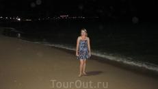 Прогулки в центре Паттайи ночью
