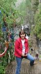 На водопадах в Аршане, Тункинская долина, Бурятия