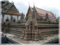 Экскурсия в Королевский дворец. Мини-копия Ангкор Ват (Камбоджа).