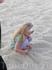 пляж -- такая большая песочница!