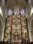 La Capilla Mayor, главная капелла Собора и огромный алтарь, посвященный, как и весь Собор, Деве Марии. Произведение XVI века, авторства двух братьев Rodrigo ...