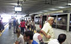 Станция Наполи Гарибальди. Посадка на Circumvesuviana-местная электричка. Проезд до Сорренто 4 евро.