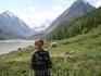 Я, на фоне горы Белухи