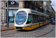 ...и современный трамвай