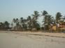 пляж доминиканы, раннее утро