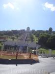 """Хайфа. """"Восьмое чудо света"""" - Сады бахаи. Их называют висячими садами, потому что они как бы """"стекают"""" по склону горы Кармель."""