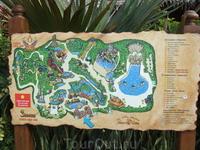 Сиам Парк - огромный аквапарк. Карта