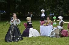 Липецкое городище-2013. Бал курортного Липецка. Век XIX