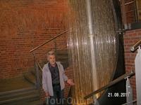 Музей воды. Нитчатый фонтан. Подобный фонтан есть в одном из отелей Хургады
