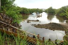 Речка в глубине острова