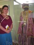 на выставке национального татарского костюма