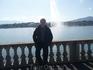 Jet d'Eau со мной - гигантский фонтан на Женевском озере в центре Женевы - 500 литров воды в секунду!