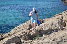 Пляж и я