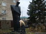 Цхинвал. Памятник скорби на мемориальном кладбище школы №5