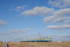 ЭР22-34 между  3 км и Степногорском