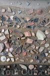 В музее Карфагена Осколки пунического или римского периодов