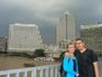 на мосту реки Чао Прае