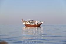 Берега Омана. Много столетий это были берега, где главенствовали пираты.