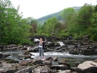 Водопадики в деревушке Киллин