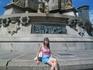 Барселона. Памятник Колумба.