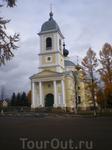 собор на площади в Мышкине