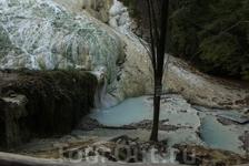 Горячие источники Фоссо-Бьянко в Баньи-Сан-Филиппо