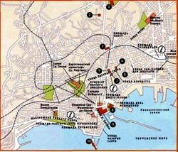Карта Неаполя на русском