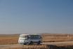 ЛАЗ-695Н проезжает около о.п. Пляж