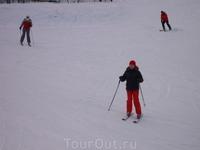На лыжне на Слотвинах