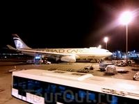 Летели авиакомпанией Etihad