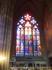 витражные стрельчатые окна собора Святого Вита.