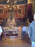 Поездка в Новиград. Приходская церковь Святого Пелагия. Было воскресенье и мы попали на службу. Католическая служба всегда мне нравилась тем, что есть ...