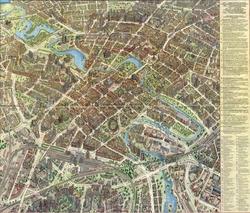 Карта Минска с достопримечательностями
