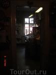 В кафе 3 зала, один был закрыт под приватное мероприятие - суббота ведь!