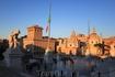 Вид на площадь Венеции.