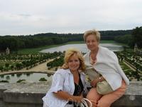 Версаль. Вид на Оранжерею и Швейцарское озеро